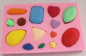 Jewelry Silicone Molds Craft DIY Handmade Cake Candle Bake Chocolate Mould
