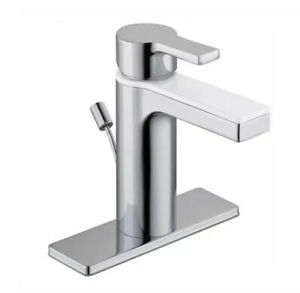Glacier Bay Modern Contempory Single-Handle Lavatory Faucet Chrome