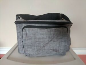 Portable Soft Insulated Cooler Bag Adjustable Strap and Pocket - NEW