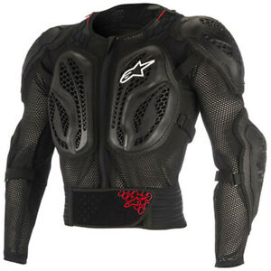 ALPINESTARS BIONIC ACTION BLACK RED YOUTH ARMOUR JACKET SMALL MEDIUM AU $174.99
