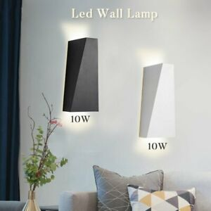 Modern LED Wall Light Waterproof Exterior Up Down Cube Sconce Lamp Fixture 10W