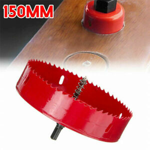6 inch 150 mm Hole Saw Blade Corn Hole Drilling Cutter Woodworking Tool US Ship