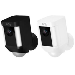 Ring Spotlight Cam Battery Powered HD Security Camera with Two Way Talk amp; Siren