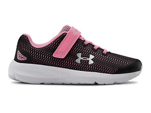 Under Armour Girls Pre School UA Pursuit 2 AC Running Athletic Sneakers Shoes $52.00