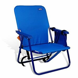 Backpack Beach Camping and Tailgating Steel Chair