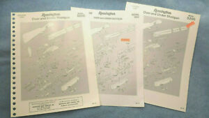LOT of 3 Original VINTAGE Remington 3200 Over Under PARTS Lists EXPLODED Views $3.95