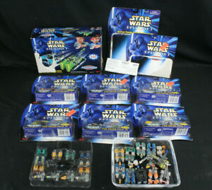 Star Wars Micro Machines Lot New amp; Open Packs I II III IV Build Own Launcher
