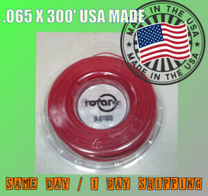 .065 X 300' ROUND TRIMMER LINE STRING USA MADE PROFESSIONAL ELECTRIC BATTERY 065