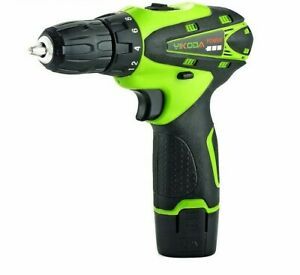 Electric Screwdriver 12V Cordless Drill Rechargeable Lithium Driver Power Tools