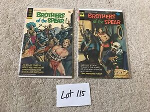 2 lot Brothers of the Spear #3 1972 #11 1974 lot 115