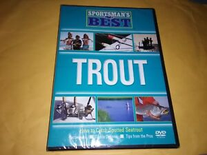 Sportsman#x27;s BEST TROUT Fishing DVD How to catch spotted seatrout