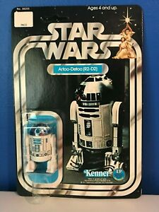 STAR WARS 1978 R2-D2 12 Back MOC - C Card