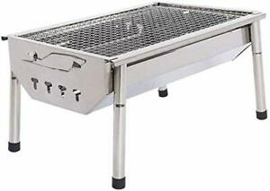 Charcoal Grills ISUMER Barbecue Portable BBQ - Stainless Steel Folding Kabab For