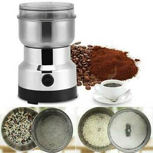 Electric Stainless Steel Coffee Bean Nut Spice Grinder Grinding Milling Machine