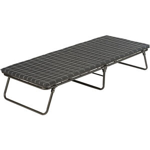 Camping Cot With Sleeping Pad For Camper Outdoor Back Yard Sleep Over Adult Kids
