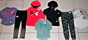 GIRL'S SIZE 6 6X GORGEOUS 7 PIECE TOPS, LEGGINGS, JOGGER & HOODIE CLOTHING LOT! $149.00