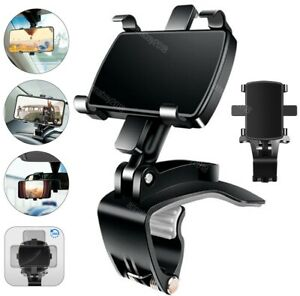 Universal Car Dashboard Mount Holder Stand Clamp Cradle Clip for Cell Phone GPS $5.99