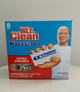 Mr. Clean Magic Eraser Outdoor Extra Durable 8 Pads