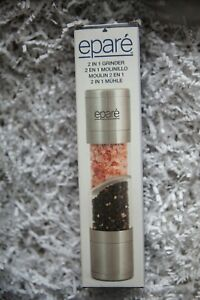 Epare 2 in 1 Salt and Pepper Grinder Brand New in Box