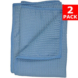 Detailer#x27;s Choice Waffle Weave Microfiber Towel Car Drying Towel 2 PACK
