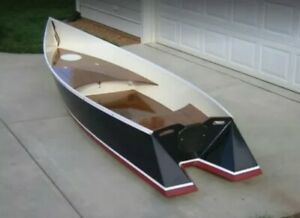 wood boat tango skiff fish boat small PLANS build your own