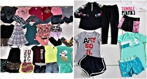 GIRL'S SIZE 8 JUSTICE MINI BODEN MATILDA JANE ZARA UNDER ARMOUR CLOTHING LOT EUC $355.00