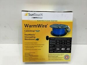 SunTouch Floor Warming WarmWire 40 sq. ft. 120-Volt Radiant Heating Wire