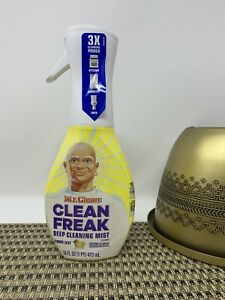 Mr Clean Freak Deep Cleaning Mist Lemon Scent 16oz Spray Bottle