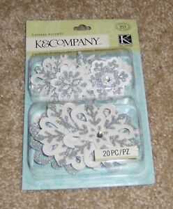 KCompany Layered Accents Very Merry Snowflakes $4.99