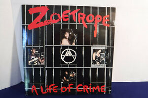 Zoetrope A Life Of Crime Combat 88561 8159 1 1987 Poster amp; Insert Thrash