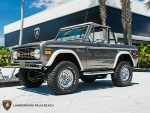 1972 Ford Bronco  1972 Ford