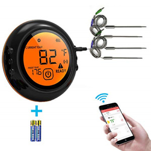 2019 upgrade Smart Wireless Meat Thermometer Bluetooth Adapter for Wireless Meat
