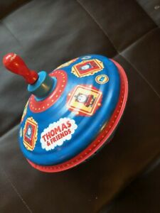 Vintage Metal Thomas amp; Friends Spinning Top Spinner Toy Collectible Item