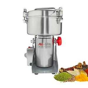 Grain Mill Grinder | High-Speed Swing Grinder | Nuts and Spices Chopper | 1000gr