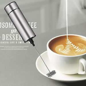 Milk Frother Handheld Electric, Coffee Frother for Milk Foaming, Latte/Cappuccin