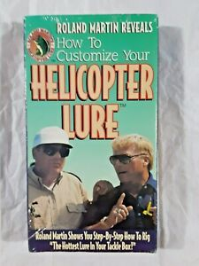 How to Customize Your Helicopter Lure by Roland Martin vhs 11.95