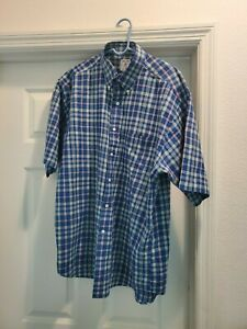 Mens Brooks Brothers Sport Shirt Size Large $11.00