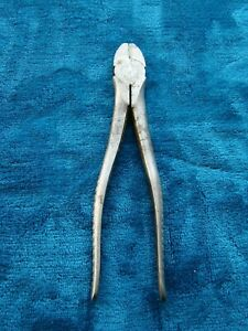 Vintage Snap-on Vacuum Grip Diagonal Side Cutters 87 Made in USA