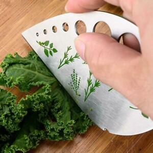 Stainless Steel Herb Stripper Vegetable Leaf Remover Kitche Kitchen Peeler S2A9