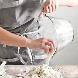 Pampered Chef Classic Batter Bowl With White Lid #2431 8 CUP Mixing Bowl