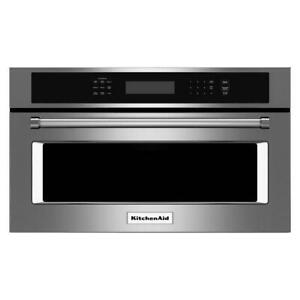 KitchenAid Built-In Microwave Oven with Convection Cooking, 30-Inches