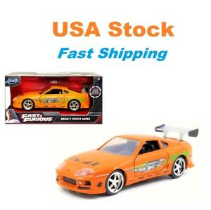 Fast And Furious 1995 Brian's Toyota Supra, JADA, Diecast Toy Car, 5.5, 1:32