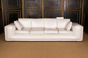 Exclusive Designer Sofa 4 Seater With Swarovski Stones Rhinestone Stones