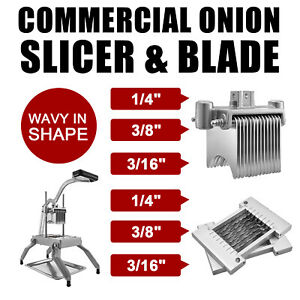 Commercial Onion Slicer Vegetable Cutter Fruit Dicer Or 1/4