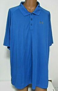 New No Tags UNDER ARMOUR MEN'S 3XL GOLF POLO LOOSE SHORT SLEEVE SHIRT PICK COLOR $29.47