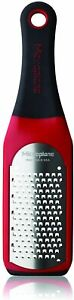 Microplane Artisan Series Coarse Cheese Grater Red