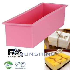 Loaf Pan Baking Bread Large Cakes L Rectangle Brick Soap Pastry Toast Non Stick