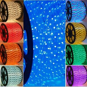 2Wire LED Rope 10MM Light Holiday Decorativ, Party, Wedding, Patio, Deck, Fence