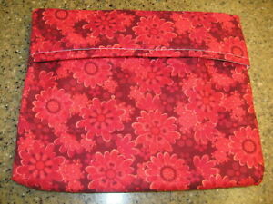 Microwave Baked Potato Bag - Red and Rusts Flowers