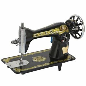 Durable Metal Flat Bed Sewing Machines Lock Stitches Household Tailoring Machine $604.34